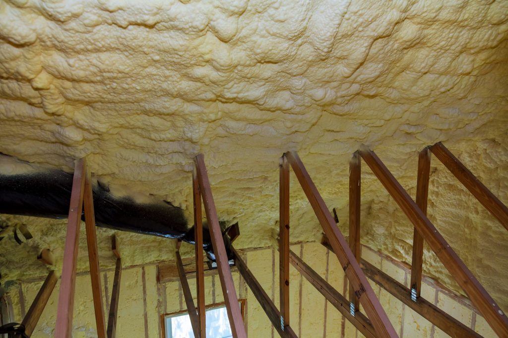 blown insulation vs rolled